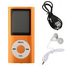 New 1.8 Digital MP3 MP4 Player LCD Screen 4th FM Radio Music Video Movie Media