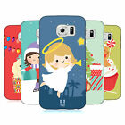 HEAD CASE DESIGNS JOLLY CHRISTMAS TOONS HARD BACK CASE FOR SAMSUNG PHONES 1