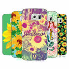 HEAD CASE DESIGNS SUNFLOWER HARD BACK CASE FOR SAMSUNG PHONES 1