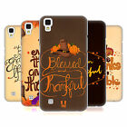 HEAD CASE DESIGNS THANKSGIVING TYPOGRAPHY HARD BACK CASE FOR LG PHONES 2