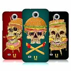 HEAD CASE DESIGNS SKULL SANDWICHES HARD BACK CASE FOR HTC PHONES 3