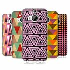 HEAD CASE DESIGNS TRIANGLES HARD BACK CASE FOR HTC PHONES 2