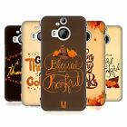 HEAD CASE DESIGNS THANKSGIVING TYPOGRAPHY HARD BACK CASE FOR HTC PHONES 2