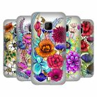 HEAD CASE DESIGNS WATERCOLOURED FLOWERS HARD BACK CASE FOR HTC PHONES 1