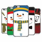 HEAD CASE DESIGNS MR SNOWMAN HARD BACK CASE FOR APPLE iPHONE PHONES