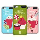 HEAD CASE DESIGNS HOLIDAY TREATS HARD BACK CASE FOR APPLE iPOD TOUCH MP3