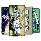 HEAD CASE DESIGNS PHOTO DOODLE ADVENTURES HARD BACK CASE FOR SONY PHONES 4