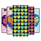 HEAD CASE DESIGNS SWEET HEARTS HARD BACK CASE FOR SONY PHONES 4