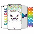 HEAD CASE DESIGNS RAINBOW MOUSTACHE HARD BACK CASE FOR SAMSUNG TABLETS 2