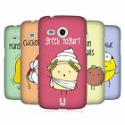 HEAD CASE DESIGNS YUMMY DOODLE HARD BACK CASE FOR SAMSUNG PHONES 6