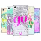 HEAD CASE DESIGNS WANDERLUST STATEMENTS HARD BACK CASE FOR SONY PHONES 2