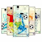 HEAD CASE DESIGNS GEOMETRIC FOOTBALL MOVES HARD BACK CASE FOR SONY PHONES 3