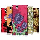 HEAD CASE DESIGNS LA FLOR HARD BACK CASE FOR SONY PHONES 3