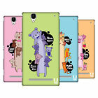 HEAD CASE DESIGNS LONG ANIMALS HARD BACK CASE FOR SONY PHONES 3