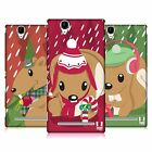 HEAD CASE DESIGNS SQUIRLY HOLIDAY HARD BACK CASE FOR SONY PHONES 3