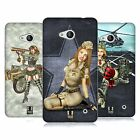 HEAD CASE DESIGNS ARMY PIN-UP CHIC SOFT GEL CASE FOR NOKIA PHONES 1