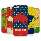 HEAD CASE DESIGNS PRINTED COUNTRY MAPS SOFT GEL CASE FOR APPLE iPHONE PHONES