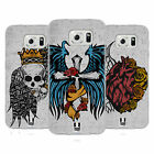 HEAD CASE DESIGNS TATTOO WINGS SOFT GEL CASE FOR SAMSUNG PHONES 1