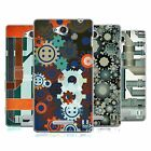 HEAD CASE DESIGNS PIPES AND GEARS SOFT GEL CASE FOR SONY PHONES 3