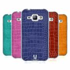 HEAD CASE DESIGNS CROCODILE SKIN PATTERN SOFT GEL CASE FOR SAMSUNG PHONES 4
