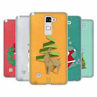 HEAD CASE DESIGNS ORIGAMI XMAS SOFT GEL CASE FOR LG PHONES 3