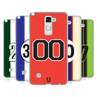 HEAD CASE DESIGNS SPEED MARKINGS SOFT GEL CASE FOR LG PHONES 3
