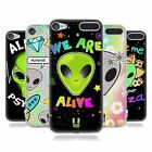 HEAD CASE DESIGNS ALIEN EMOJI SOFT GEL CASE FOR APPLE iPOD TOUCH MP3