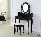 ivory dressing table mirror