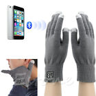 Bluetooth Winter Calling Talking Gloves Hand Gesture Touch Screen Speaker Mic