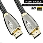 1m 2m 3m 4m 5m 10m Long Premium HDMI Cable High Speed Video Lead for HDTV PS3 3D