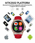 D2 Waterproof Bluetooth Smart Watch Phone Mate Heart Rate For Android iPhone IOS
