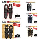 "New MTN 34"" Gold Red Blue Black Winter Man Boy Women Snowshoes Free Bag"