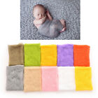 1PC Newborn Baby Boy Girl Mohair Wrap Knit Photography Prop Baby Photo Prop TB