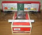 LIONEL 7-29976 2012 MERRY CHRISTMAS HOLIDAY BOXCAR TOY TRAIN O GAUGE FREIGHT NIB