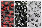 Skulls Print Polycotton Dress Fabric (C6257-M)