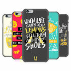 HEAD CASE DESIGNS LIFE AND LEMONS BACK CASE FOR APPLE iPHONE PHONES
