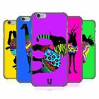 HEAD CASE DESIGNS NEON ANIMAL SILHOUETTES HARD BACK CASE FOR APPLE iPHONE PHONES