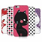 HEAD CASE DESIGNS CATS AND DOTS SOFT GEL CASE FOR APPLE iPHONE PHONES