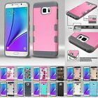 For Samsung Galaxy Note 5 Hybrid Hard Protective Case Cover TUFF Trooper