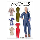 McCall's 7330 Easy Sewing Pattern to MAKE Button-Up Utility Jumpsuits & Rompers