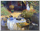 Le Dejeuner The Lunch Claude Monet Stretched Art Print Painting Reproduction