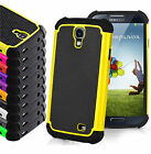 s4 mini back cover - Hybrid Silicone Shockproof Case Hard Back Cover for Samsung Galaxy S3 S4 S5 Mini