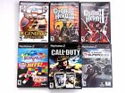 6 Playstation PS2 Games Call of Duty Legacy Guitar Hero 1&2 Cabela's Adventures