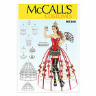 McCall's 7306 Sewing Pattern to MAKE Stretch Cosplay Corset Bra Shorts Crinoline