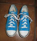Converse All Star Chuck Taylor Vivid turquoise blue Oxford sneaker shoes 3 kids