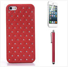 Cute Bling Glitter Sparkly Girly Crystal Rhinestone iPhone 5s Case for Girls