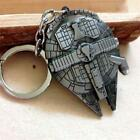 Millenium Falcon Star Destroyer Metal Key Chain Ring Keychain Star Wars Keyring