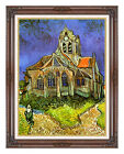 Framed Art Print The Church at Auvers by Vincent van Gogh Painting Reproduction