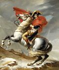 Bonaparte crossing the Alps, 1800 by J-L David (Classic Imperial Art Print)