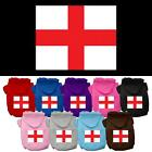 St. George's Cross (English Flag) Screen Print Dog Hoodie Give Blood Support